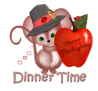Dinner Time - ThanksgivingMouse
