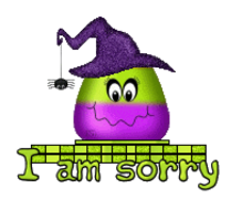 I am sorry - CandyCornWitch