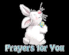 Prayers for You - HippityHoppityBunny