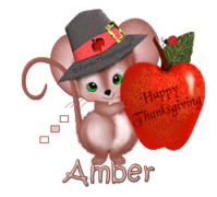 Amber - ThanksgivingMouse