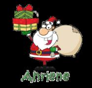 Ahrlene - SantaDeliveringGifts