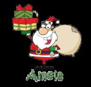Amela - SantaDeliveringGifts