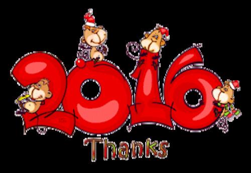 Thanks - 2016WithMonkeys