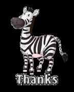 Thanks - DancingZebra