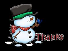 Thanks - Snowman&Bird