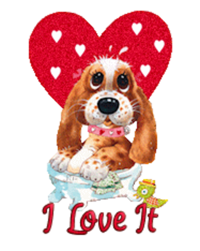 I Love It - ValentinePup2016