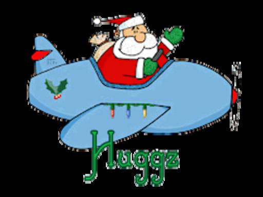 Huggz - SantaPlane