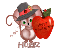 Huggz - ThanksgivingMouse