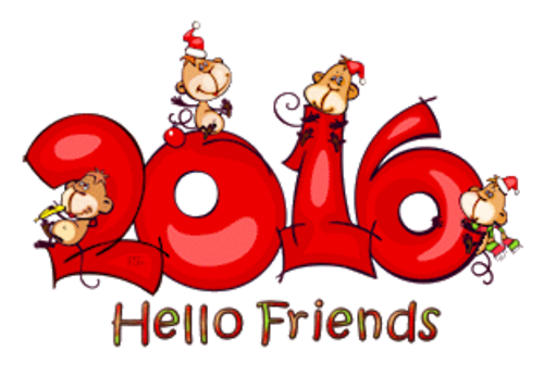 Hello Friends - 2016WithMonkeys