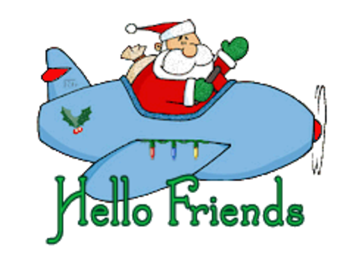 Hello Friends - SantaPlane