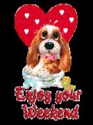 Enjoy your WE - ValentinePup2016