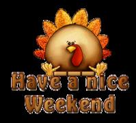 Have a nice WE - ThanksgivingCuteTurkey