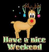 Have a nice WE - ChristmasReindeer
