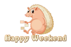 Happy Weekend - CutePorcupine