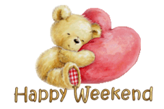 Happy Weekend - ValentineBear2016