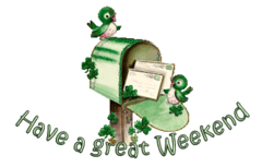Have a great WE - StPatrickMailbox16