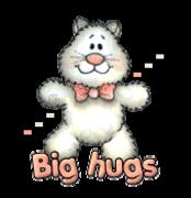 Big hugs - HuggingKitten NL16