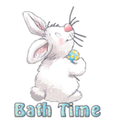 Bath Time - HippityHoppityBunny