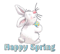 Happy Spring - HippityHoppityBunny