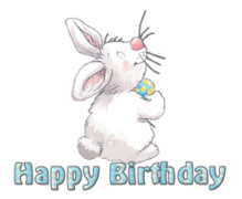Happy Birthday - HippityHoppityBunny