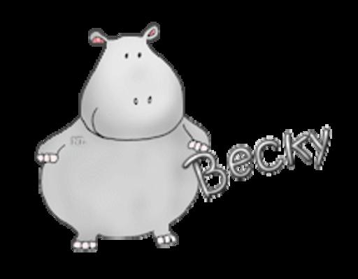 Becky - CuteHippo2018