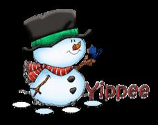 Yippee - Snowman&Bird