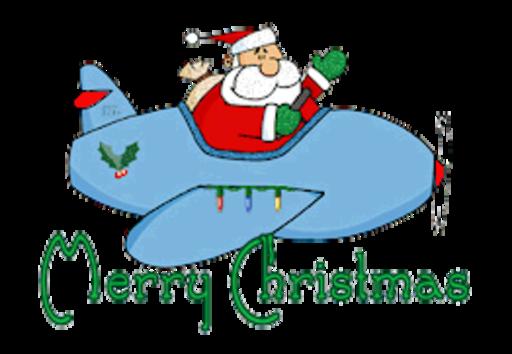 Merry Christmas - SantaPlane