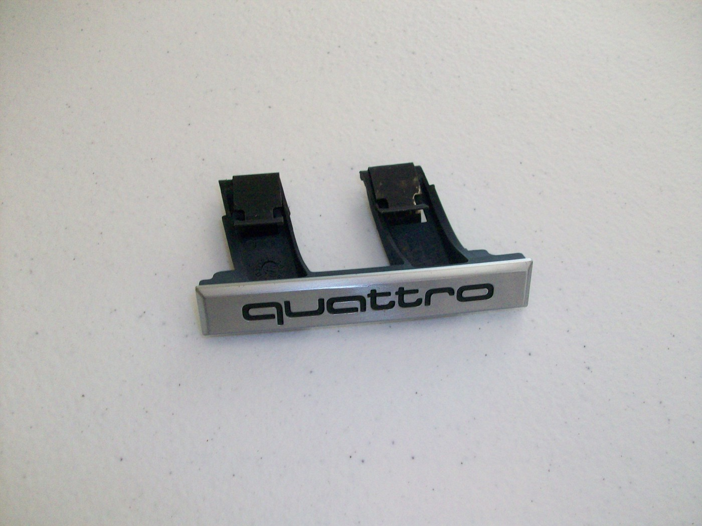 $10 quattro Badge for Front Grille with clips
