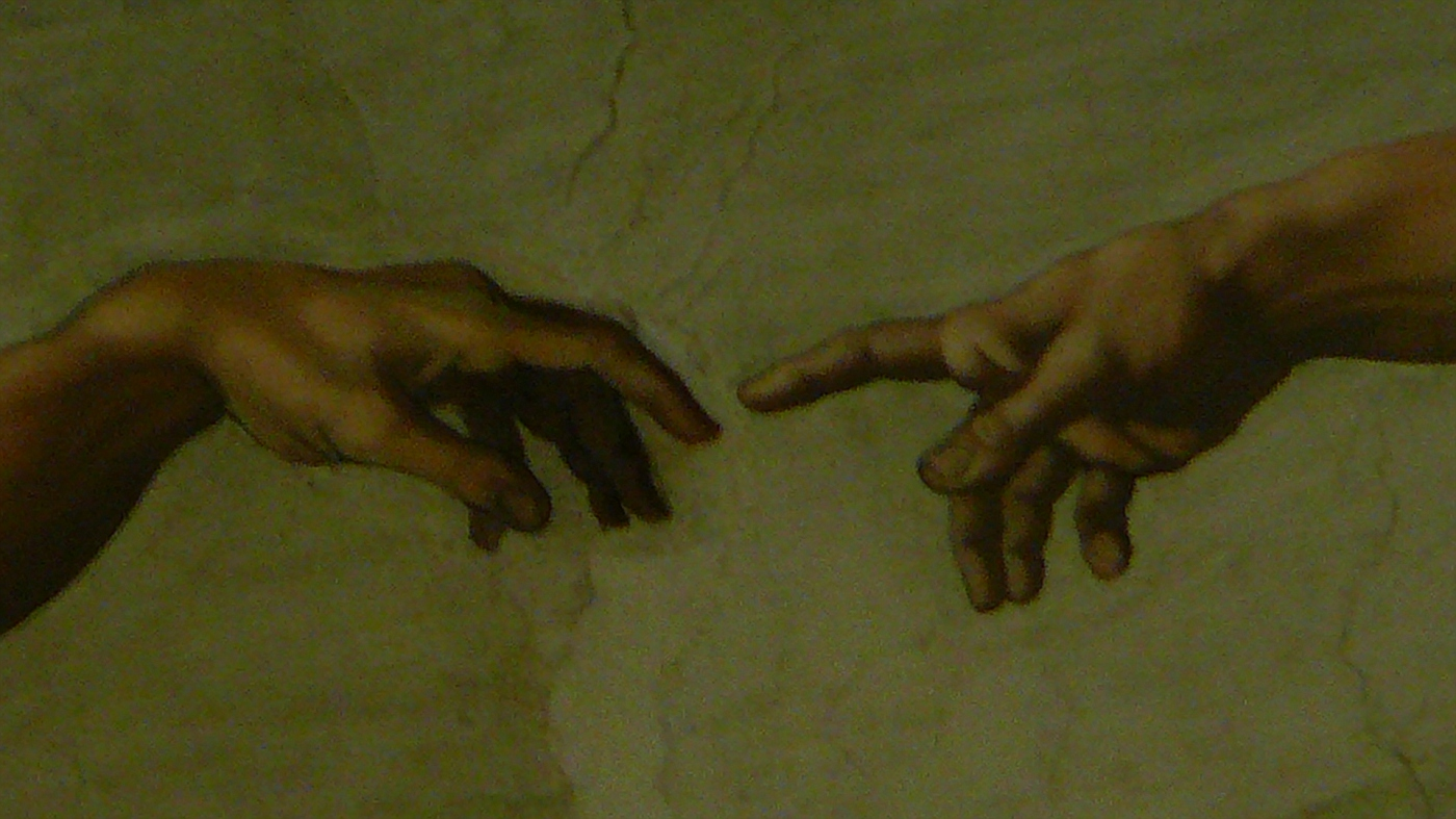 """""""Creation"""" by Michelangelo on Sistine Chapel"""