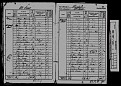 1841 census - Mary Butcher - Living in Widemark Street, Hereford. Female servant