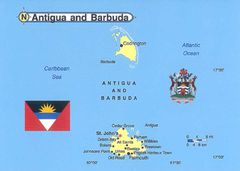 00- Map of Antigua & Barbuda 00