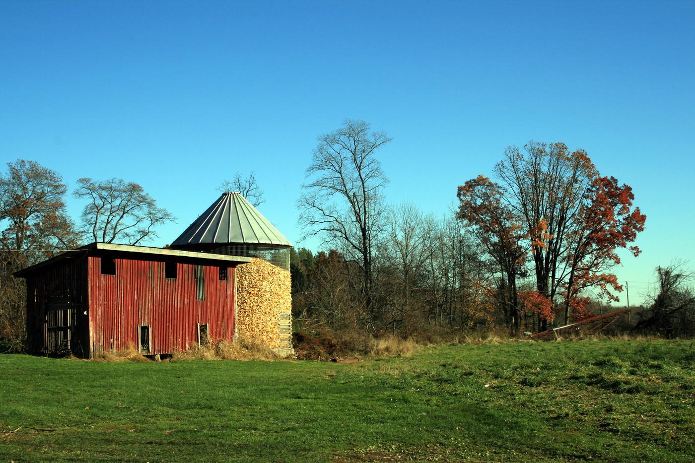 Pennsylvania Farmers Corn Crib