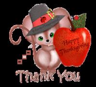 Thank You - ThanksgivingMouse