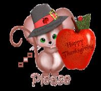 Please - ThanksgivingMouse