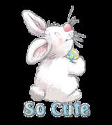So Cute - HippityHoppityBunny