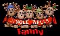 Fanny Reindeers Jingle Bells
