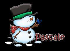Pascale - Snowman&Bird