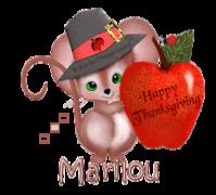Marilou - ThanksgivingMouse
