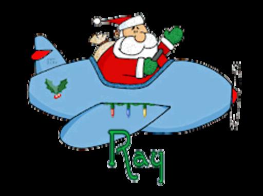 Ray - SantaPlane