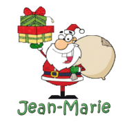 Jean-Marie - SantaDeliveringGifts