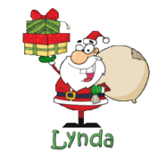 Lynda - SantaDeliveringGifts