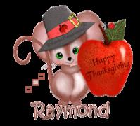 Raymond - ThanksgivingMouse