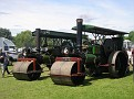 "Aveling & Porter rollers, TN 216,Works number 11145. 1925.""Ayeshia"" & PT 3779, Works number 10921. 1924.""Julia""."