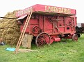 1903. Foden threshing drum, spent all it's working life in Scotland. Brought south by it's present owner in 2000.