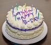 My First Birthday Cake