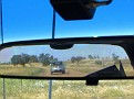 Gypsy & Herman driving through the Warrumbungles 001