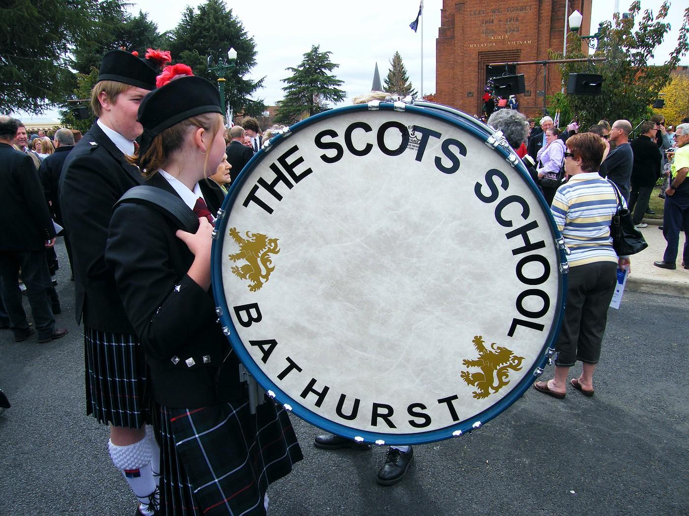 Scots School Drummer