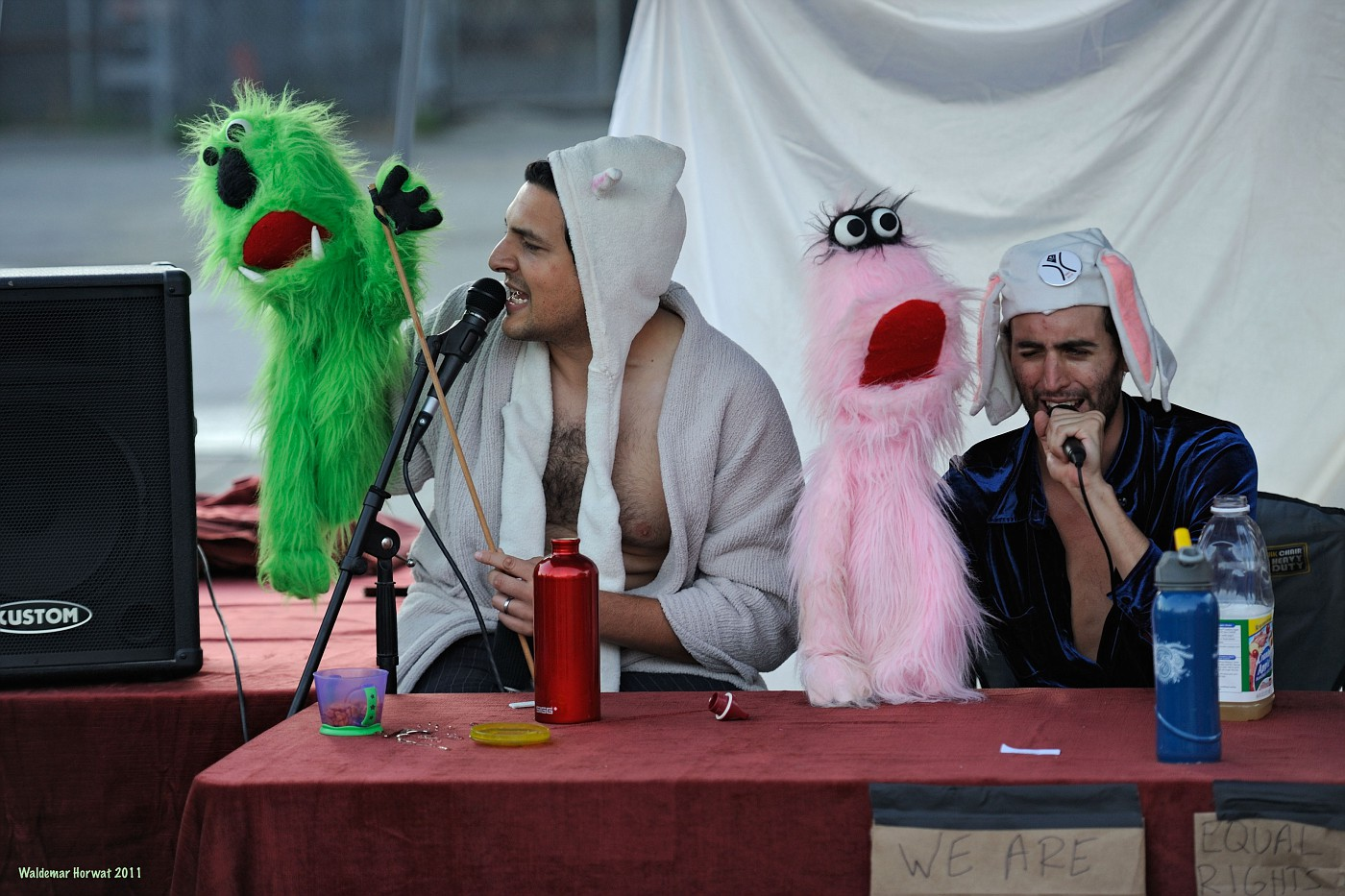 Occupying Sesame Street