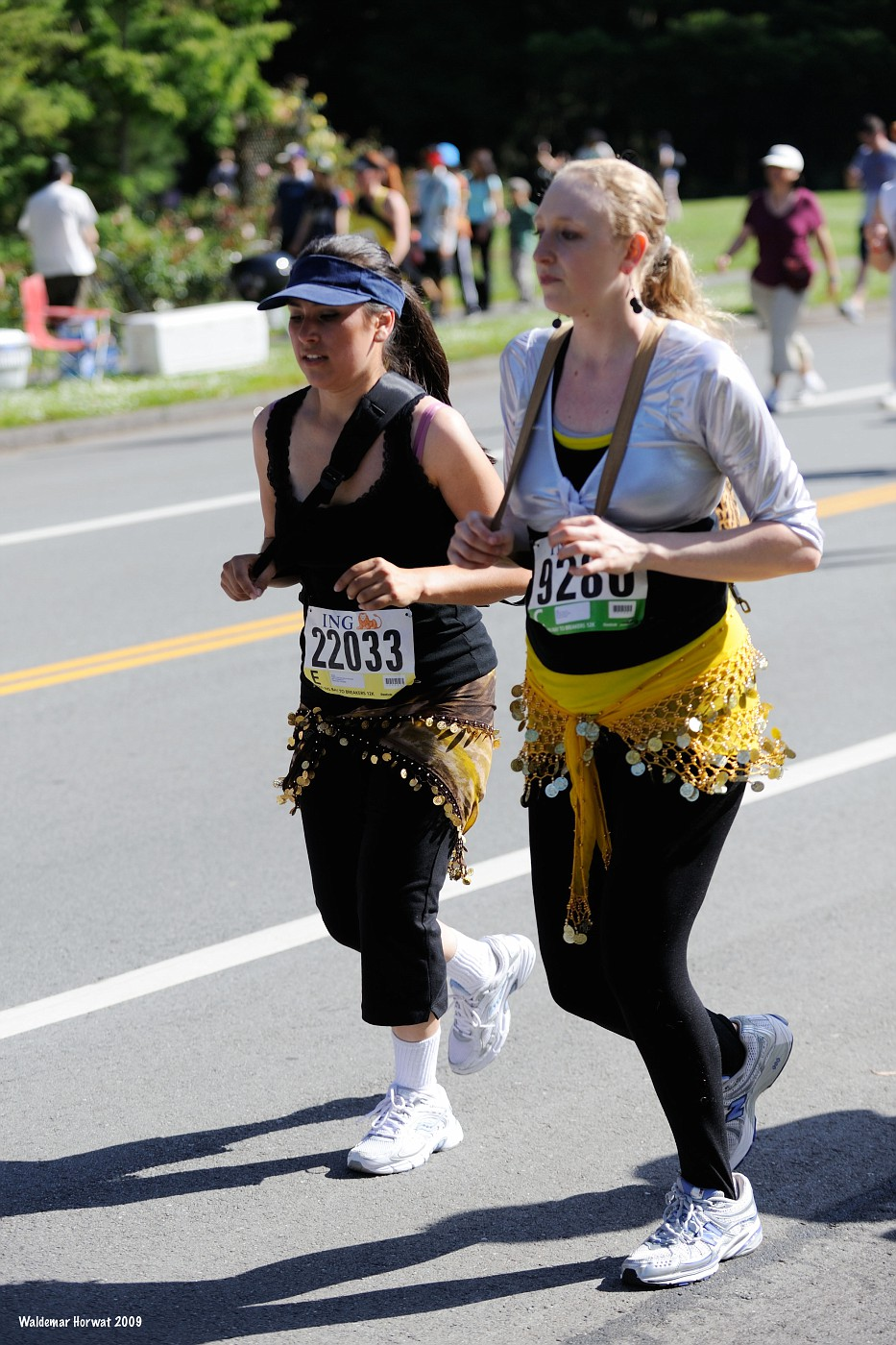 Running with Coin Belts