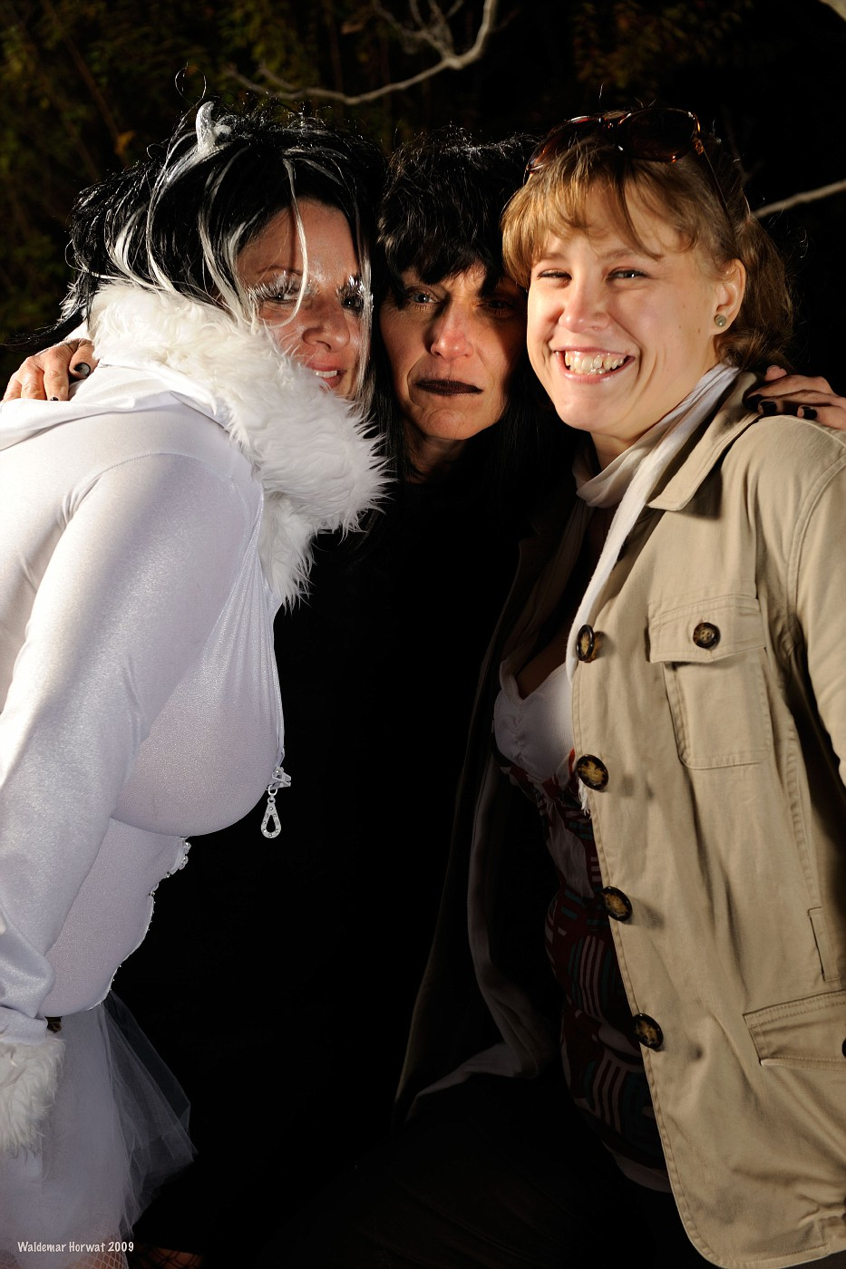 Melinda, Jamie, and Aja